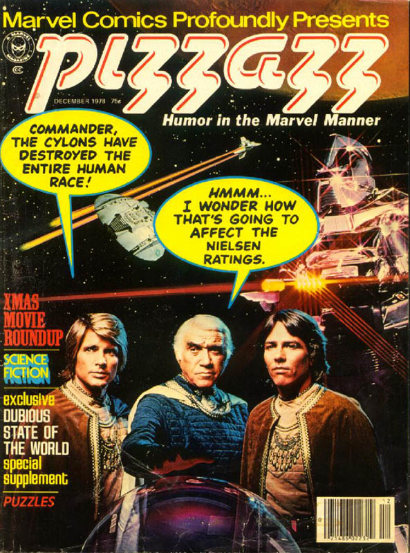 Pizzazz: A Long Lost Marvel Youth Culture Mag from the 70s