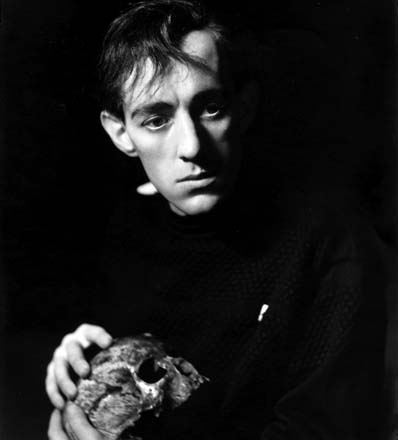 Alec Guinness as Hamlet