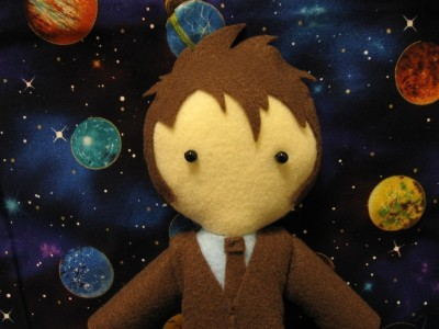 David Tennant crafted doll