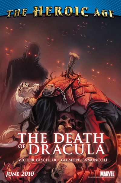 Death of Dracula: A Marvel one shot