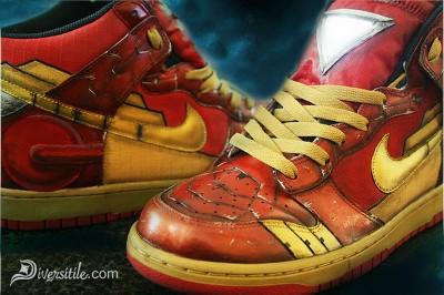 Custom Iron Man Shoes That Only Tony Stark Could Afford