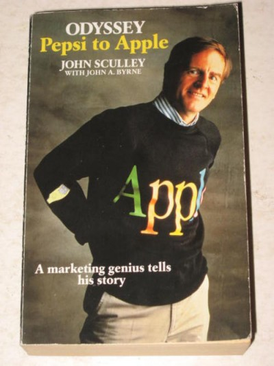 John Sculley's book Odyssey: Pepsi to Apple