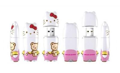 Hello Kitty x mimobot USB Memory (Teddy bear)