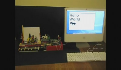 Lego felt tip printer 2