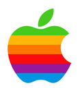 Apple logo from the 80s