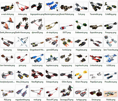 Pod Racer Toys