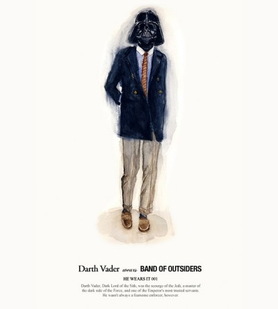 John Woo's Star Wars Designer Fashion Illustrations - 1