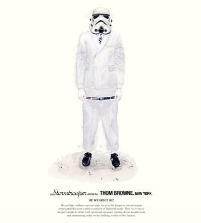 John Woo's Star Wars Designer Fashion Illustrations - 2