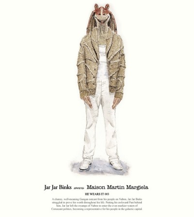 John Woo's Star Wars Designer Fashion Illustrations - 4