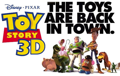 Toy Story 3: The Toys are Back in Town.