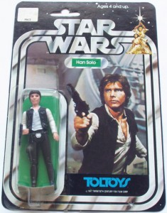 Vintage Han Solo Star Wars figure