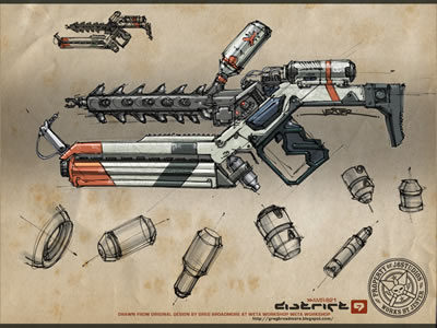 District 9 Gun design
