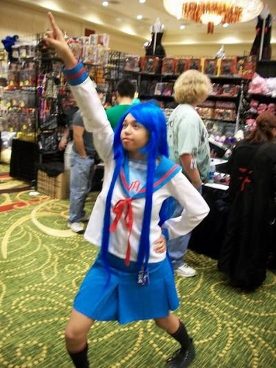 Mechacon 2010 cute cosplay photo of Lucky Star ©2010 Christian Liendo