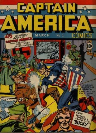 Captain America Issue #1