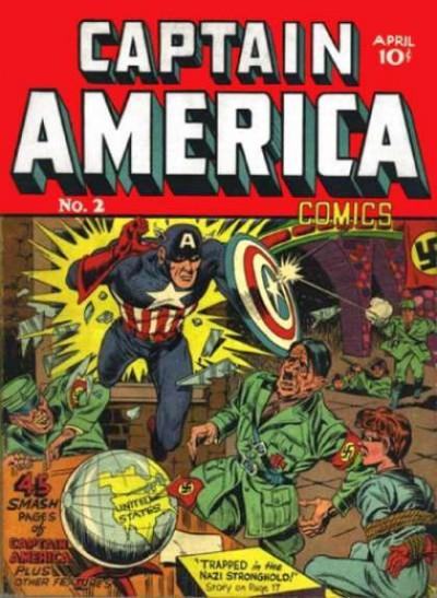 Captain America Issue #2