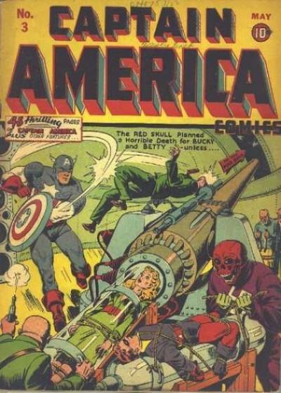 Captain America Issue #3