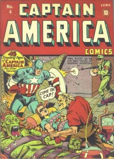 Captain America Issue #4