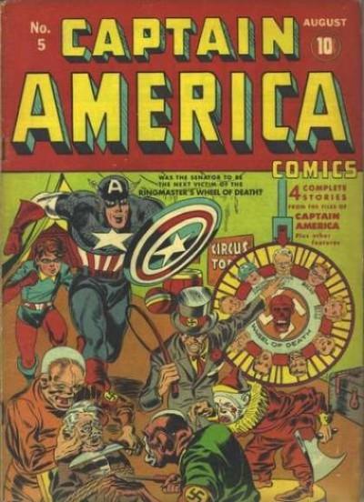 Captain America Issue #5