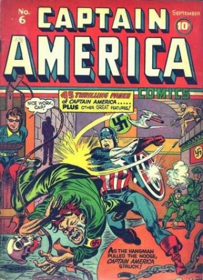 Captain America Issue #6