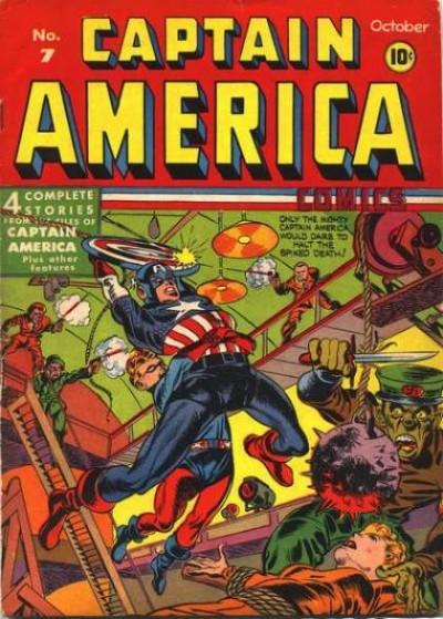 Captain America Issue #7