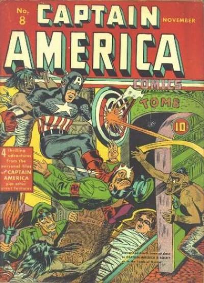 Captain America Issue #8