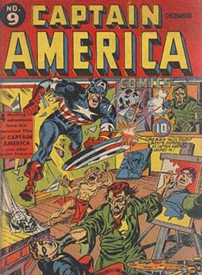 Captain America Issue #9