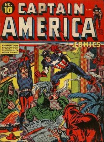 Captain America Issue #10
