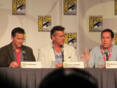 Bruce Campbell at Comic-Con 2010