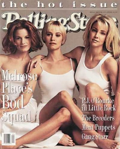 Melrose Place on the cover of Rolling Stone in 1994