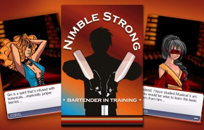 Nimble Strong: A game for the iPhone