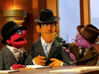The Muppet Mad Men from Sesame Street