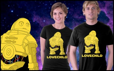 Tee Fury's Star Wars Lovechild T-Shirt