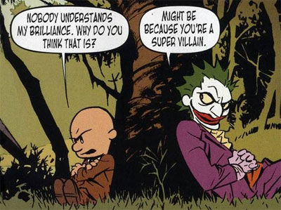 The Joker knows why Lex Luthor isn't popular.