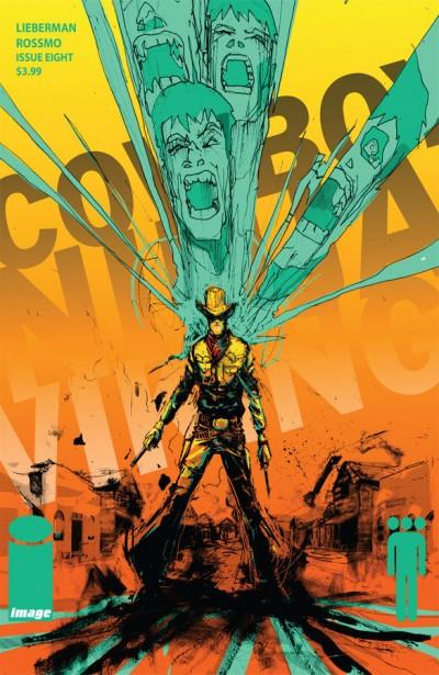Cowboy Ninja Viking #8 cover