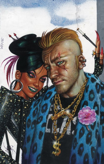 HELLBLAZER #273 Cover by SIMON BISLEY
