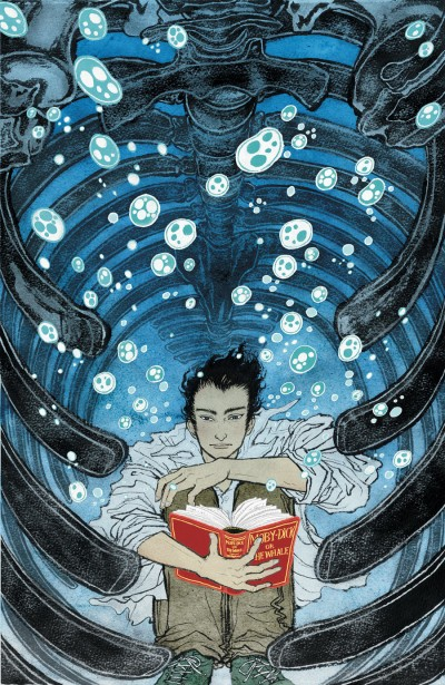 THE UNWRITTEN #19 Cover by YUKO SHIMIZU
