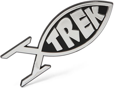 Trekkie Car Emblem