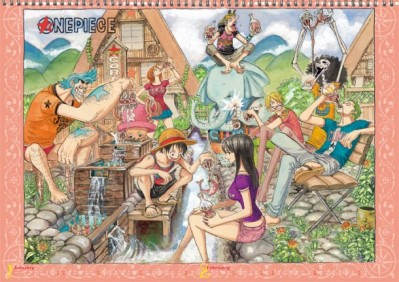 "Eiichiro Oda ""ONE PIECE"" Calendar"