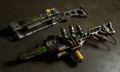 Fallout 3 Lazer and Plasma Rifles