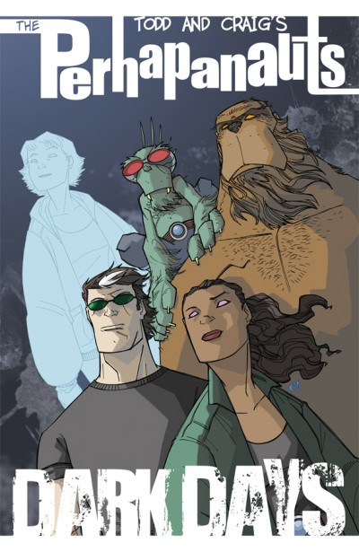 Perphanauts Vol. 00: Dark Days Cover Illustration by Craig Rousseau, Rico Renzi