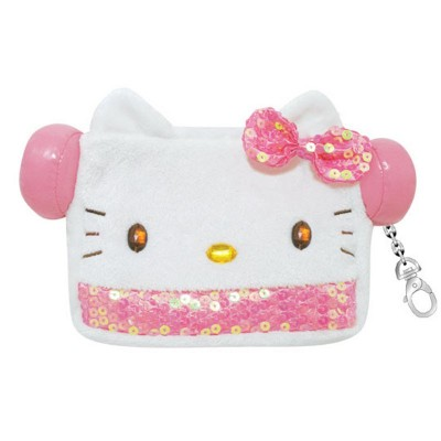 Speagurumi Cute Carrying Pouch Speaker Hello Kitty
