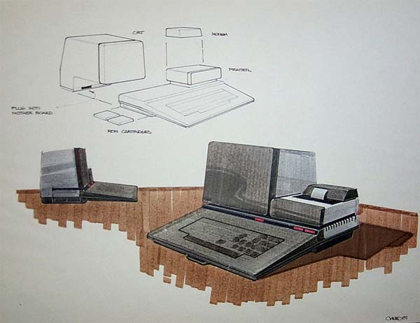 Atari computer concept art