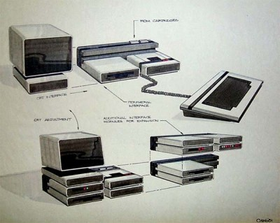 "Atari ""Bus Bar"" concept art"