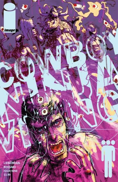 Cowboy Ninja Viking #9 Cover Illustration by Riley Rossmo