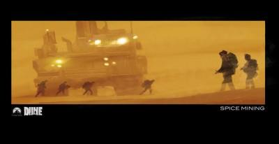 Dune remake concept art - Mining