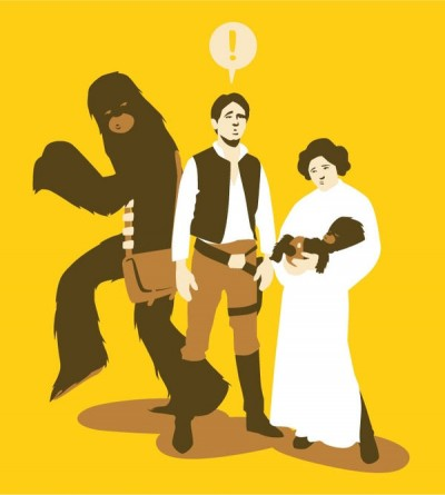 Silly Star Wars Images Found via Twitter