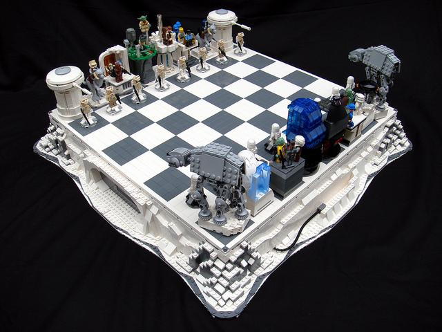 Empire Strikes Back Lego Chess Set Why Can T I Buy This