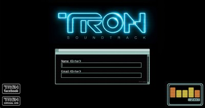 Tron Soundtrack Website