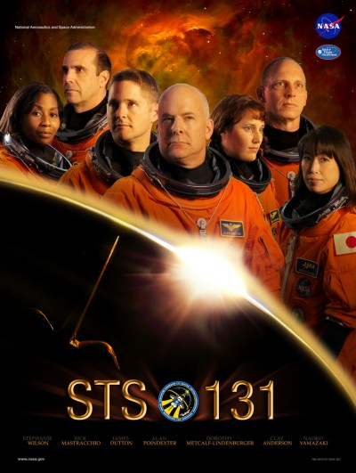 Nasa STS-131 Mission Poster