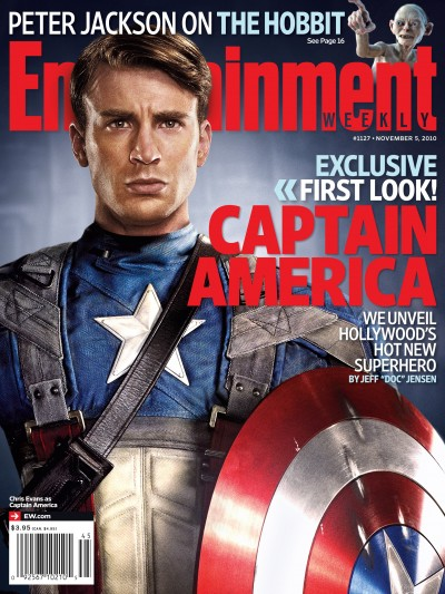 Captain America magazine cover